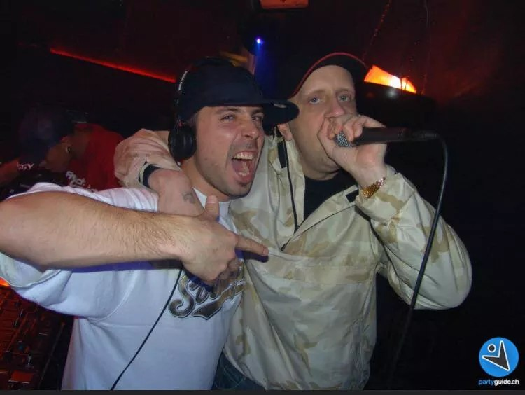 old shot with dj erox thun city!!